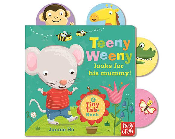 Tiny Tabs:Teeny Weeny Looks For His Monny 老鼠Weeny的媽媽在哪裡呢? 硬頁拉拉書(美國版)