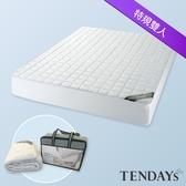 床包-TENDAYs-備長炭床包型保潔墊 7尺特大雙人床包套