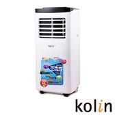 KOLIN歌林不滴水4-6坪冷專清淨除濕移動式空調8000BTU(KD-201M03 送專用窗戶隔板)