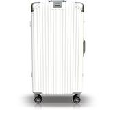 【YC Eason】30吋運動鋁框避震行李箱胖胖箱(白)