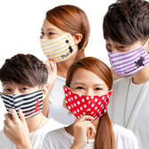 【Disney 】剪影系列立體舒適成人口罩(男女通用)