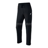 Nike 長褲 Sportwear Pant Oh Ft Club 黑 白 男款 運動長褲 【PUMP306】 804400-010