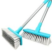 長柄地板刷子 浴室清潔刷廚房地磚刷衛生間洗地刷瓷磚硬毛掃水刷 9號潮人館