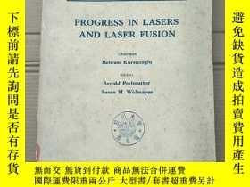 二手書博民逛書店progress罕見in lasers and laser fusion(P2147)Y173412