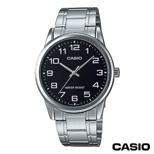 CASIO卡西歐 指針系列歐美時尚男錶 MTP-V001D-1B