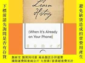 二手書博民逛書店Why罕見Learn HistoryY364153 Sam Wineburg University Of Ch