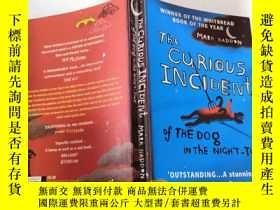 二手書博民逛書店The罕見Curious Incident of The Dog in the Night Time by Mar