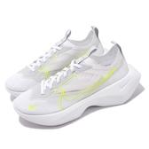 Nike 休閒鞋 Wmns Vista Lite SE 白 螢光綠 女鞋 厚底 老爹鞋 透明鞋面設計 【ACS】 CW2651-100