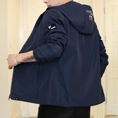 外套夾克 秋冬休閒夾克男運動風衣外套厚薄可選防曬衣服潮流百搭外套男 唯伊時尚