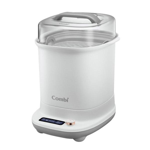 【贈真實含乳寬口玻璃奶瓶120mlx2】康貝 Combi GEN3消毒溫食多用鍋-2色可選|消毒鍋