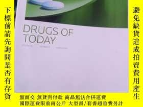 二手書博民逛書店DRUGS罕見OF TODAY Volume 52 Number