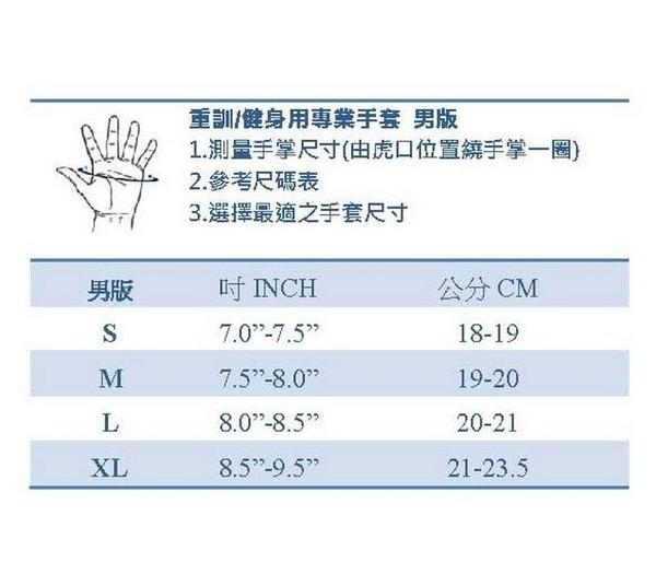 [線上體育]L12714131523Harbinger Bioform  男  M 重訓/健身手套