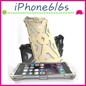 Apple iPhone6/6s 4.7吋 Plus 5.5吋 雷神系列手機殼 鎖螺絲背蓋 金屬材質手機套 Thor保護套 硬式保護殼