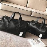 短途旅行包男出差手提包女大容量旅游包簡約行李包袋防水健身包潮   9號潮人館