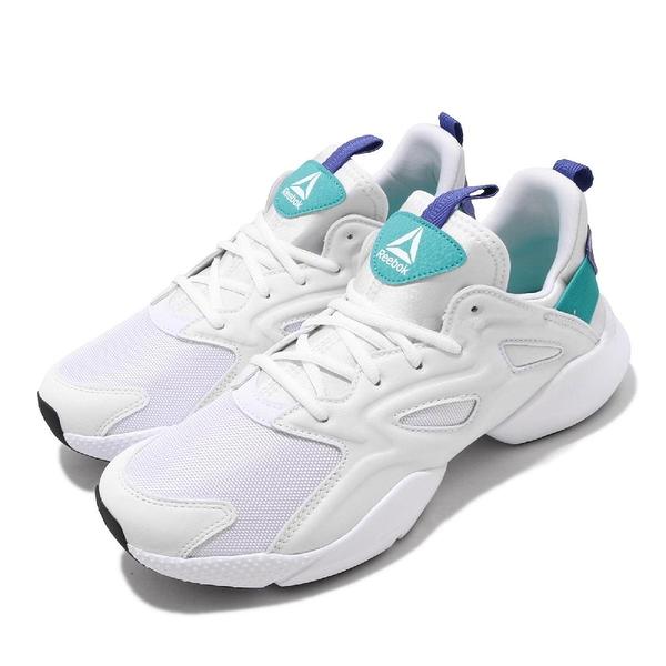【海外限定】Reebok 慢跑鞋 Sole Fury Adapt 白 紫 男鞋 運動鞋 【PUMP306】 DV8922