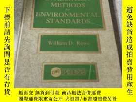 二手書博民逛書店EVALUATION罕見METHODS for ENVIRONM