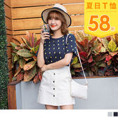 《AB6147》高含棉可愛滿版鳳梨印圖造型短袖上衣 OrangeBear