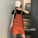 裙子夏裝韓版百搭減齡寬鬆顯瘦洋氣牛仔吊帶裙女潮 Korea時尚記
