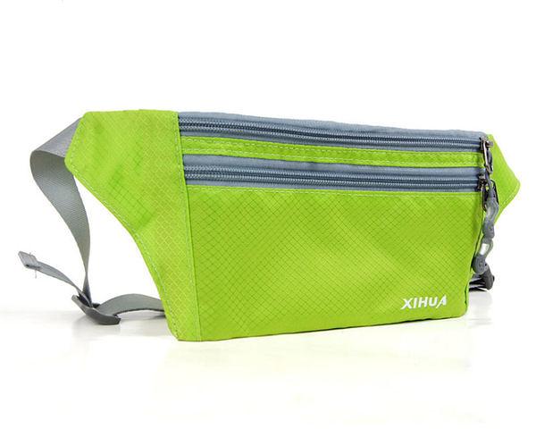 戶外運動跑步貼身腰包 男女防盜隱形包 旅行手機錢包 超薄 0.2L