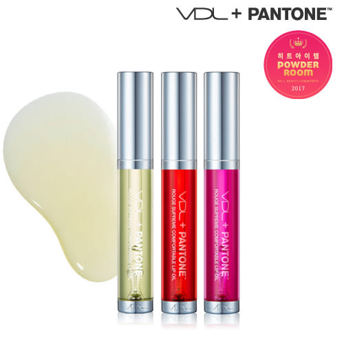 VDL x Pantone 草綠色持久護唇油(8ml) 3款可選【小三美日】2017最新限量版