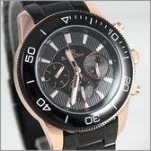【萬年鐘錶】 Roven Dino 羅梵迪諾 楊丞琳代言 全黑金男錶 RD615B