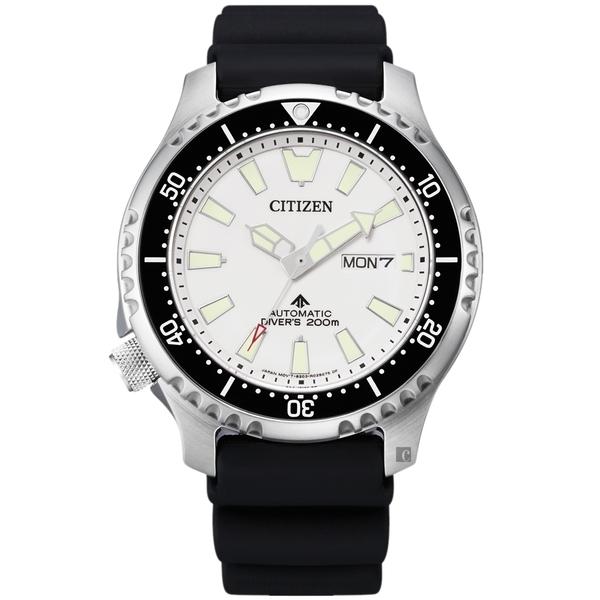 亞洲限定款 CITIZEN 星辰 PROMASTER 鋼鐵河豚EX潛水機械錶-44mm(NY0118-11A)