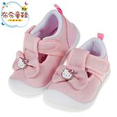 《布布童鞋》HelloKItty凱蒂貓亮線蝴蝶結粉色寶寶休閒鞋(13~15公分) [ C9U844G ]