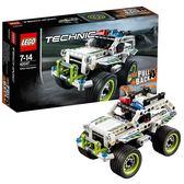 樂高機械組42047警用攔截車 LEGO Technic 積木玩具禮物趣味【潮男街】