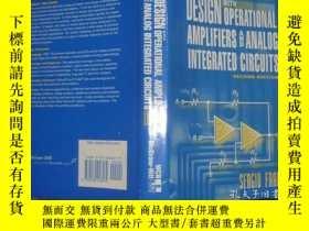 二手書博民逛書店Design罕見With Operational Amplifi