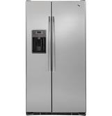 *~新家電錧~*【奇異 GZS22DSSS】702L 薄型對開門冰箱 總深度69公分 【實體店面】
