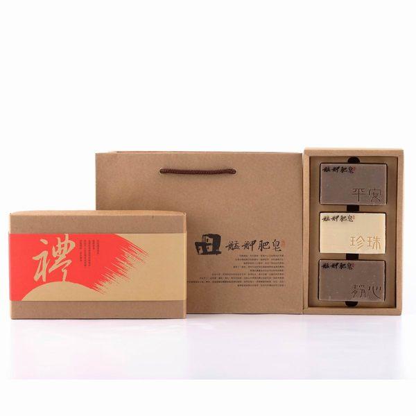 【艋舺肥皂】平安禮盒 - 平安皂+珍珠皂+靜心皂 - 手工皂.母親節禮物.送禮.禮物.熱銷