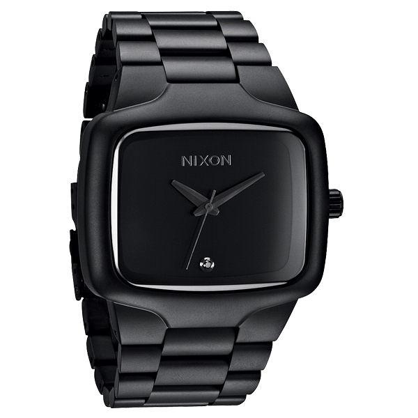 NIXON The BIG PLAYER理想姿態都會時尚腕錶(全黑)