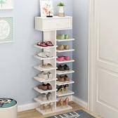鞋櫃-鞋架間易多層家用防塵多功能置物架宿舍組裝經濟型鞋櫃省空間 igo卡洛琳