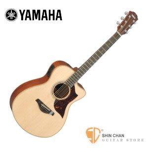 YAMAHA 山葉 AC3M 全單板可插電民謠吉他 附琴袋/移調夾/背帶/導線/彈片【電木吉他/AC-3M】