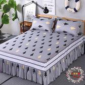 床裙歐惠雅席夢思床罩床套床裙單件公主床蓋床單床笠1.81.52.0m米