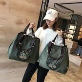 健身單肩包旅行包女韓版手提袋大容量輕便運動【英賽德3C數碼館】