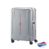 新秀麗 AT美國旅行者 Technum 100%PC 防刮飛機輪 旅行箱/行李箱-28吋(銀) 37G