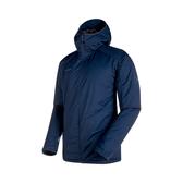 [Mammut] (男) Chamuera SO Thermo Hooded Jacket 防風保暖連帽外套 海洋藍 (M3324850-5118)