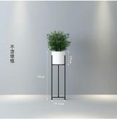 落地式花盆栽架子綠蘿簡約花架子-小號白色