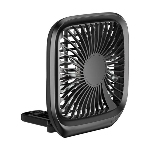 倍思車載風扇12V汽車用強力制冷24V車內空調降溫USB后排小電風扇