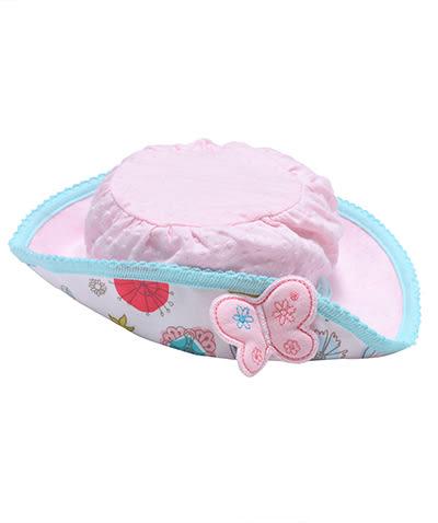 【限時5折】Hallmark Babies 女嬰花之選純棉帽子 HC1-F03-A1-AG-MR