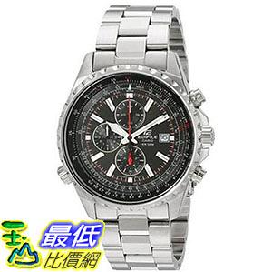 [美國直購] 手錶 Casio Mens EF527D-1AV Edifice Stainless Steel Multi-Function Watch