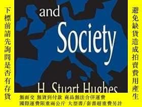 二手書博民逛書店Consciousness罕見And Society-意識與社會Y436638 H. Stuart Hughe