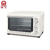 晶工 雙溫控旋風烤箱45L JK-7645【愛買】