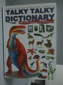 【書寶二手書T8/少年童書_YFZ】Talky Talky Dictiomary_謝依陵