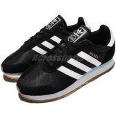 adidas 休閒慢跑鞋 Haven W 黑 白 麂皮 復古 膠底 黑白 運動鞋 女鞋【PUMP306】 CP9621