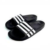 男款ADIDAS DURAMO SLIDE 超輕量防水運動拖鞋《7+1童鞋》7001黑色