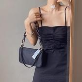 韓國小眾設計師JENNIE同款包包女2020夏新款單肩斜跨鏈條腋下包潮 【雙十二下殺】