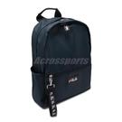 Fila 後背包 Nylon Backpack 藍 黑 男女款 運動休閒 尼龍材質 【PUMP306】 BPU3005BU