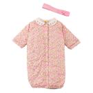 【愛的世界】鋪棉玫瑰兩用嬰衣/3~6個月-台灣製-  ---幼服推薦